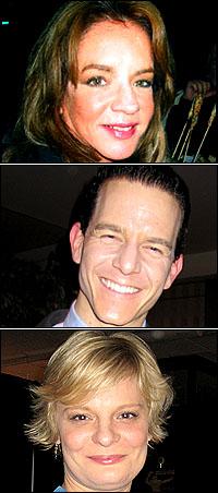 Stockard Channing, Christian Hoff and Martha Plimpton