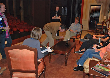 See... our director Jimmy Brennan gives us ALL notes.