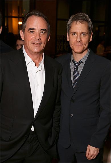 Tom Irwin and Bruce Norris