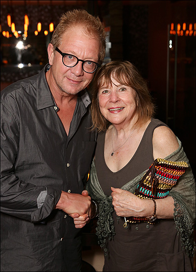 Jeff Perry and Marylouise Burke
