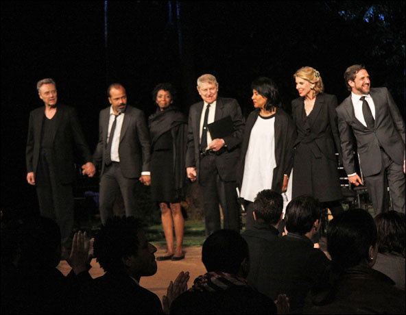 Christopher Walken, Jeffrey Wright, Sharon Washington, John Cullum, Phylicia Rashad, Christine Baranski and Raul Esparza