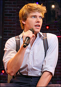 Hunter Parrish in <I>Spring Awakening.</I>