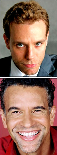 Adam Pascal & Brian Stokes Mitchell