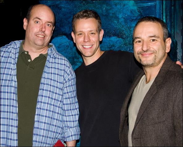 Christopher Ashley, Adam Pascal and Joe DiPietro