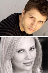 Pasha Kovalev and Anya Garnis