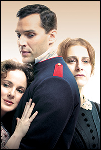 Melissa Errico, Ryan Silverman and Judy Kuhn are the triangle of <i>Passion.</i>