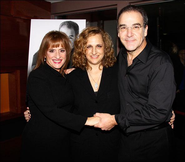 Patti LuPone, Staci Levine and Mandy Patinkin