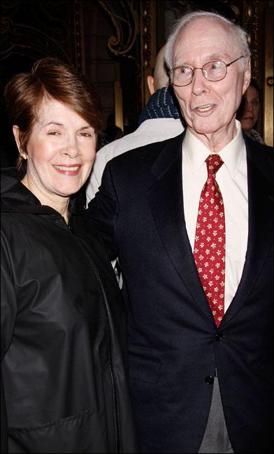 Brooke Berlind and Roger Berlind