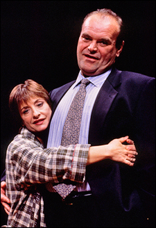 Patti LuPone and Jack Willis in The Old Neighborhood on Broadway (1997)