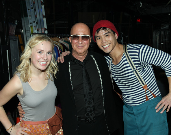 Julia Mattison, Paul Shaffer and Telly Leung