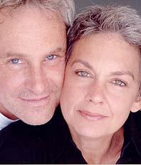 John Dossett and Michele Pawk