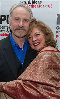 John Dossett and Michele Pawk