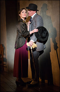 Laura Osnes and Michael Park