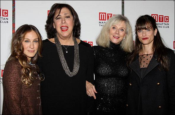 Sarah Jessica Parker, Lynne Meadow, Blythe Danner and Amanda Peet