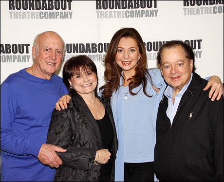 Mike Stoller, Iris Rainer Dart, Donna Murphy and Artie Butler