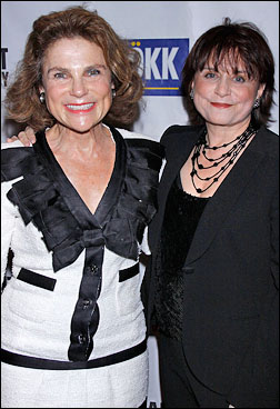 Tovah Feldshuh and Iris Rainer Dart