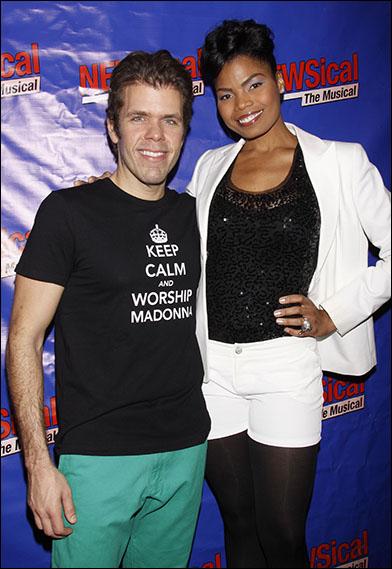 Perez Hilton and Pia Glenn