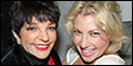 Liza Minnelli and Joan Rivers Visit Cheyenne Jackson, Henry Winkler and Cast at Broadway's The Perfo