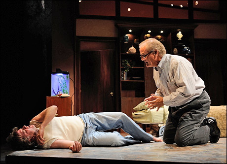 Kevin Anderson and Francis Guinan