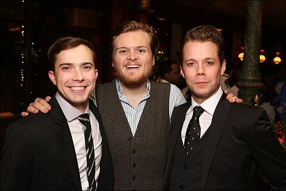 Joey deBettencourt, Harter Clingman and Benjamin Schrader