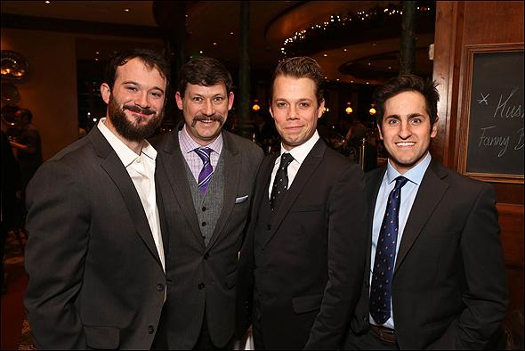 Luke Smith, Robert Franklin Neill, Benjamin Schrader and Carl Howell