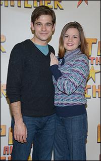 Jason Ralph and Nicole Lowrance
