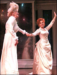 Stritch and Peters take a first-night bow