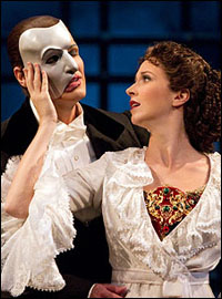 Hugh Panaro and Sara Jean Ford