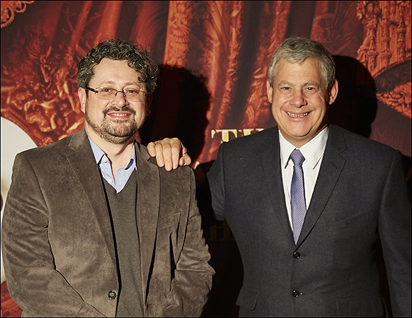 Laurence Connor and Cameron Mackintosh