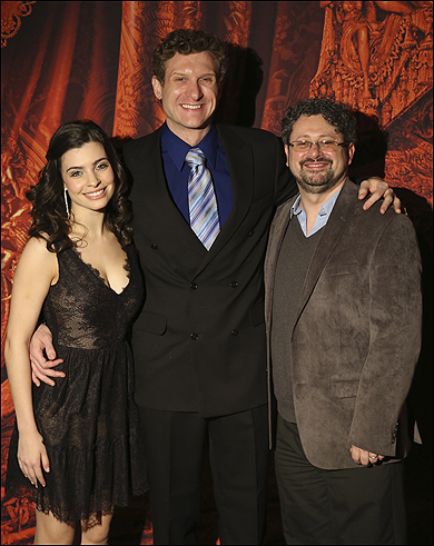 Julia Udine, Mark Campbell and Laurence Connor