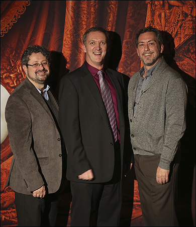 Laurence Connor, John Rigby, and Scott Ambler