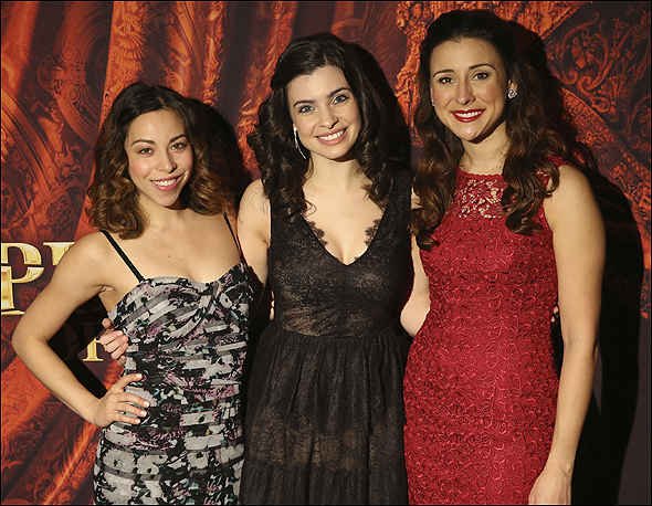 Hannah Florence, Julia Udine and Jacquelynne Fontaine