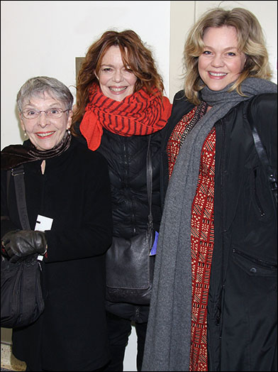 Deirdre O'Connell (center) with her mom and Ana Reeder
