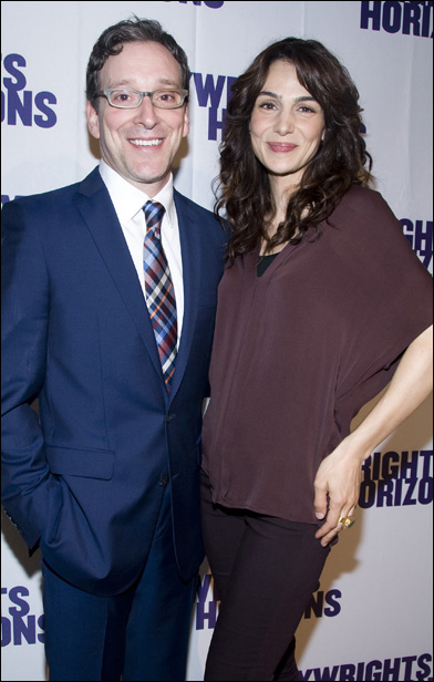 Jeremy Shamos and Annie Parisse