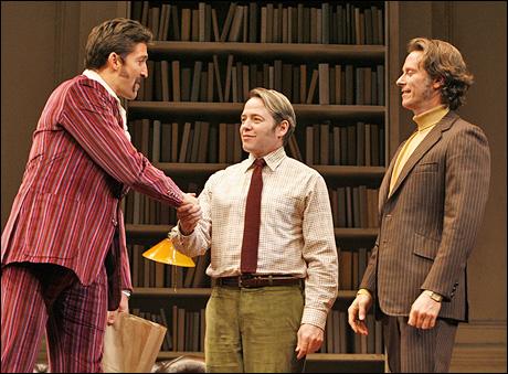 Jonathan Cake, Matthew Broderick and Steven Weber