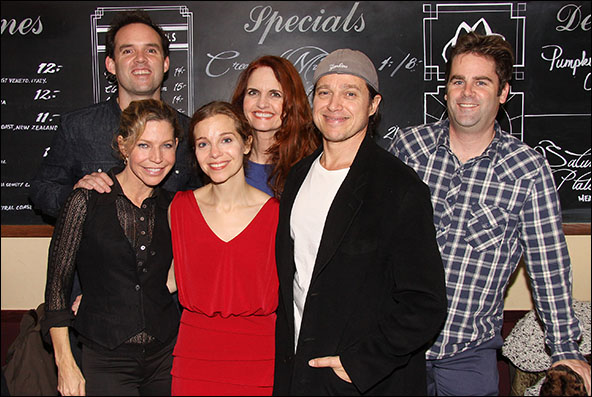 Danny Wolohan, Jacqueline Wright, Laura Heisler, Candy Buckley, Rob Campbell and Haynes Thigpen