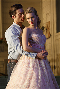 Sebastian Stan and Maggie Grace