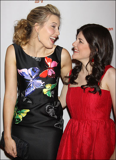 Maggie Grace and Madeleine Martin