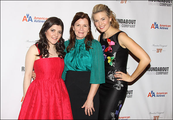 Madeleine Martin, Mare Winningham and Maggie Grace