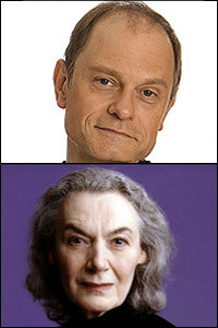 David Hyde Pierce and Marian Seldes
