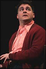 Michael Stuhlbarg in <I>The Pillowman</I>.