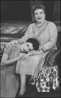 Helen Traubel and Judy Tyler in the 1955 Broadway production