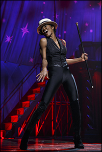 Patina Miller in <i>Pippin</i>