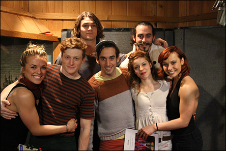 Top row: Orion Griffiths and Yannick Thomas  Bottom row: Viktoria Grimmy, Philip Rosenberg, Gregory Arsenal, Lolita Costet and Olga Karmansky