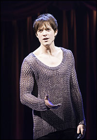 Matthew James Thomas in <i>Pippin</i>, the final musical of the season