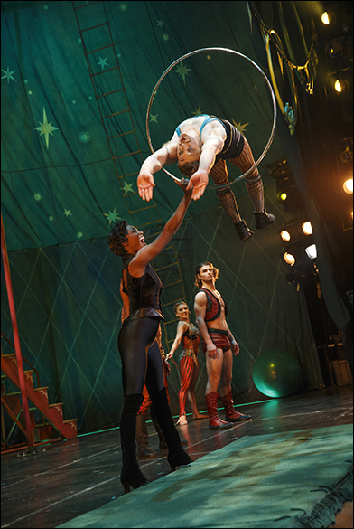 Patina Miller, Philip Rosenberg, Viktoria Grimmy and Orion Griffiths
