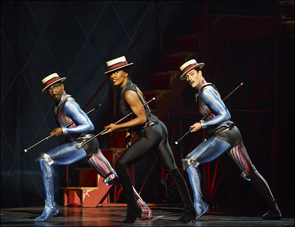 Anthony Wayne, Patina Miller and Andrew Fitch