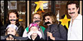 "Matthew Saldivar, Dave Barry and ""Stached"" Starcatcher Fans Celebrate ""Talk Like a Pirate Day&q"