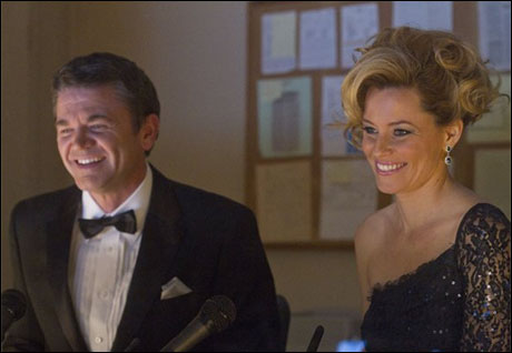 John Michael Higgins and Elizabeth Banks