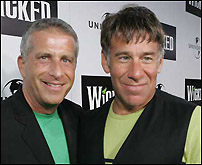 Marc Platt with <I>Wicked</I> composer Stephen Schwartz.
